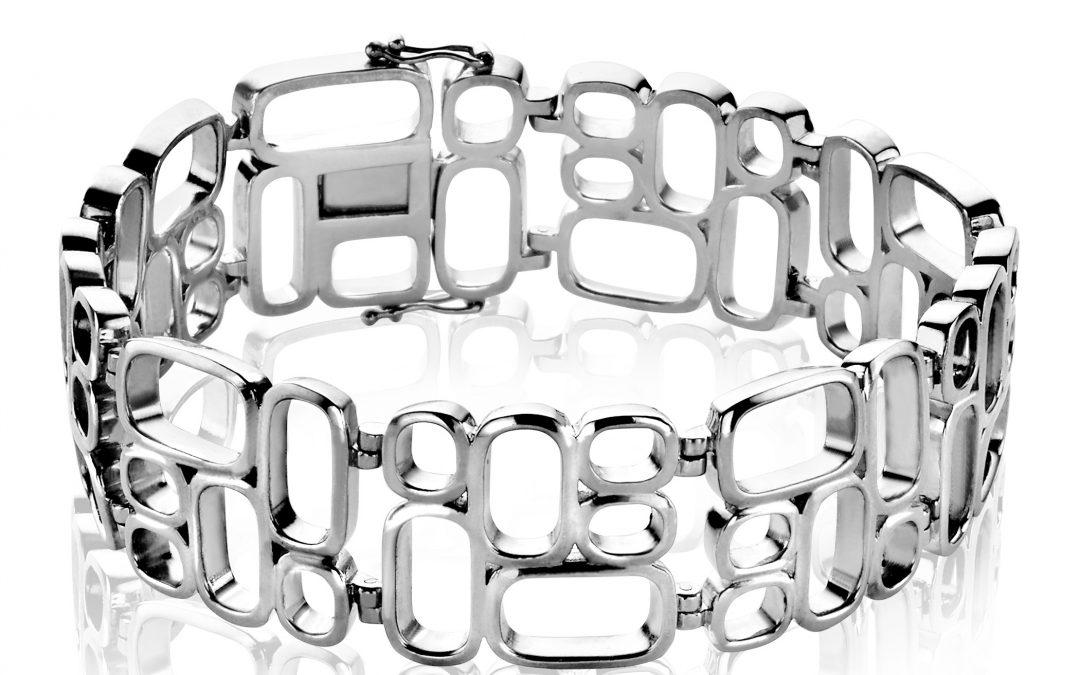 Mart Visser by ZINZI zilveren fantasie armband glad MVA3