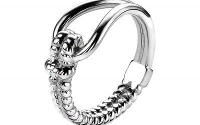 Mart Visser by ZINZI zilveren ring bewerkt MVR9